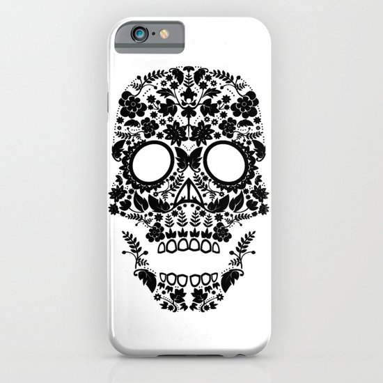 Day of the Dead Skull No.12 iPhone & iPod Case