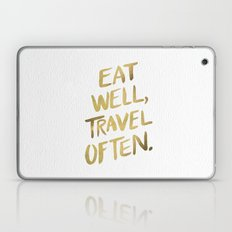 Eat Well Travel Often On… Laptop & iPad Skin