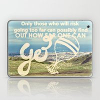 Adventure Quote, Hot Air… Laptop & iPad Skin
