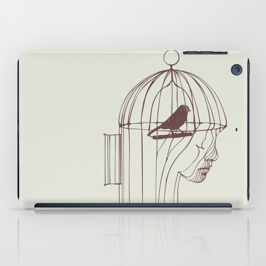 Be Alone iPad Case