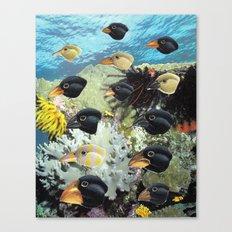 Birds of the Sea Canvas Print