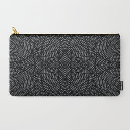 Carry-All Pouch - Ab Lace Black and Grey - Project M