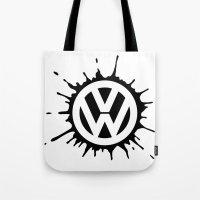 VW Splat Tote Bag