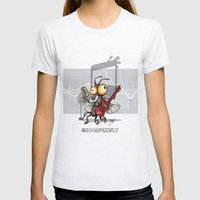 Le Rocker Fly Womens Fitted Tee Ash Grey SMALL