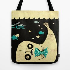 Panda Seal Tote Bag