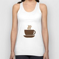 Hot Drinks Available. Unisex Tank Top