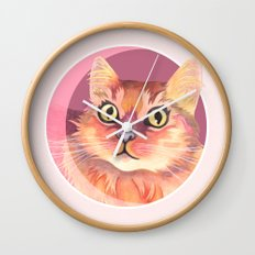 Miss Meowgi Wall Clock