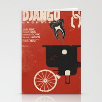 Django Unchained - Alter… Stationery Cards