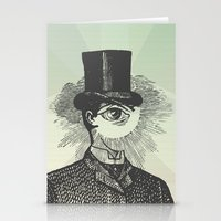 Eyeliner Stationery Cards