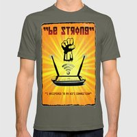 Be Strong Mens Fitted Tee Lieutenant SMALL