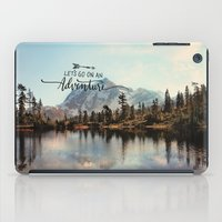 lets go on an adventure iPad Case