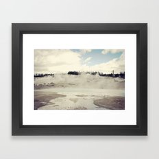 The Earth Dreams Framed Art Print