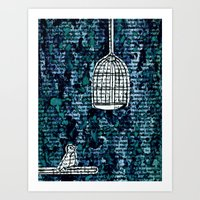 The Bird Cage Art Print
