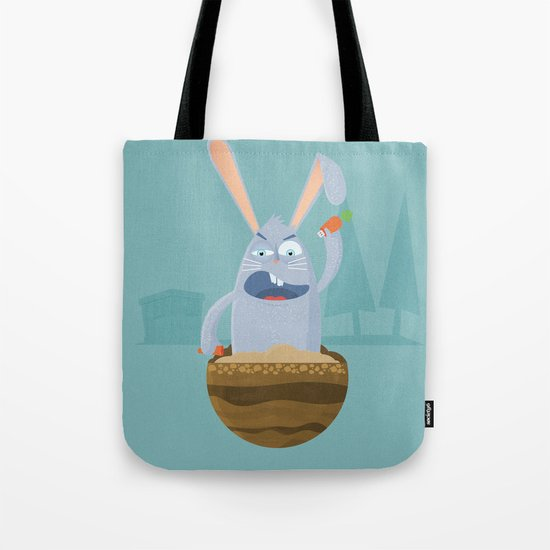 Fake Food Rabbit Tote Bag