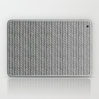 Grey Knit feeling Laptop & iPad Skin