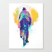 GO BIKE Canvas Print