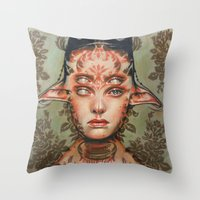 The Dream Thief By Alex … Throw Pillow