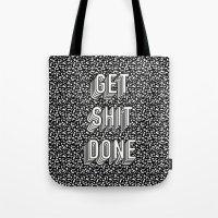 Get Shit Done Memphis Static Tote Bag