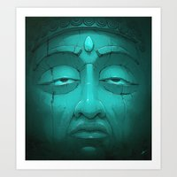 Buddha I. Art Print
