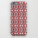Red and White Tiles iPhone & iPod Case