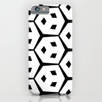 iPhone & iPod Case featuring Van Trijp Black & White Pattern by Stoflab
