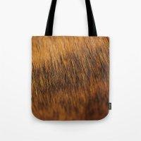 Brindle Fur Tote Bag