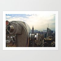 Such Great Heights Art Print