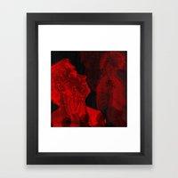 Necrotic Introspection (Introspection nécrotique) Framed Art Print