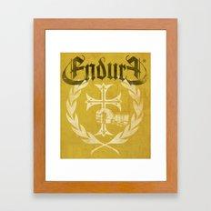 HAND WITH CROSS Framed Art Print