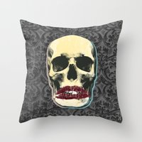 SMACK Throw Pillow