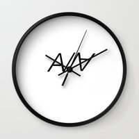 ABRCWESOME Wall Clock