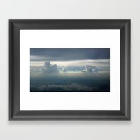 Sky Clouds Framed Art Print