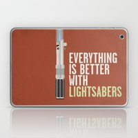 Everything Is Better Wit… Laptop & iPad Skin