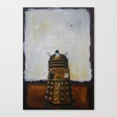Dalek and a Rothko Canvas Print
