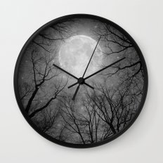 May It Be A Light (Dark Forest Moon) Wall Clock