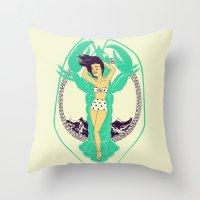 Oh Summer Throw Pillow