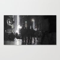 NYC By Times Square 2 Canvas Print