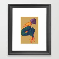 I'm Cold Framed Art Print