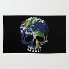 Skull Earth Rug