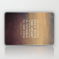 IV. Anything essential is invisible to the eyes. Laptop & iPad Skin