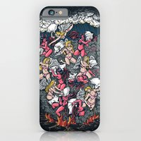 iPhone & iPod Case featuring good vs evil  by Peter Kramar