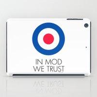 In Mod We Trust iPad Case