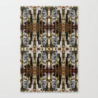 Drips ORG:  Fractal Canvas Print