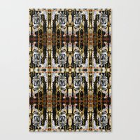 Drips ORG:  Fractal Canvas Print