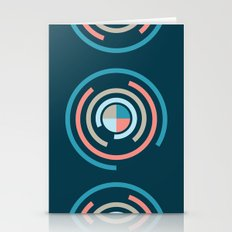 Colorful Circles V Stationery Cards