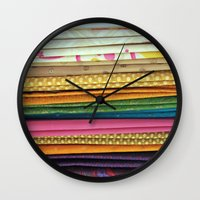 indian sarees Wall Clock