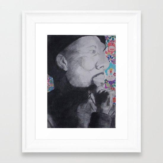 Common Murakami Framed Art Print