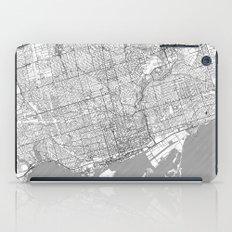 Toronto Map Line iPad Case