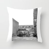 The City 3: Brooklyn In … Throw Pillow