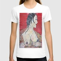 PORTRAIT OF A LADY EXPOS… Womens Fitted Tee White SMALL